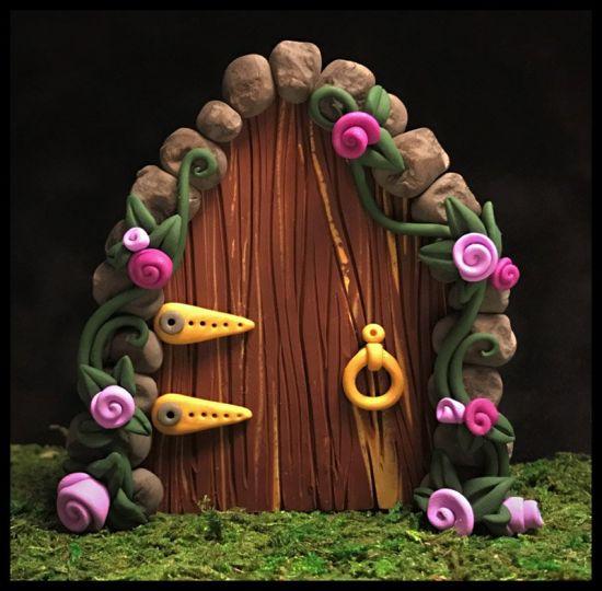 Sculpey III Enchanted Fairy Door