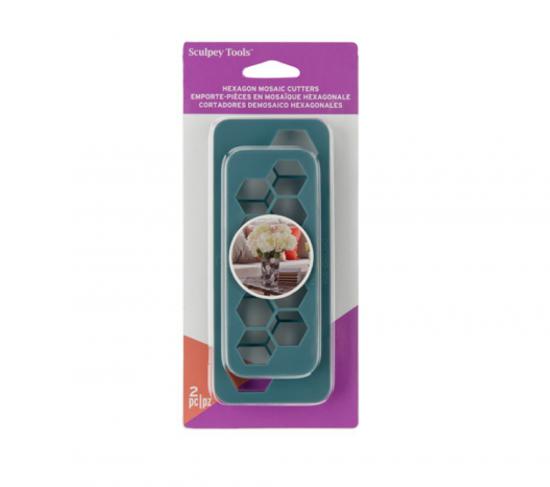 Sculpey Tools™ Mosaic Hexagon Cutters- 2 pc