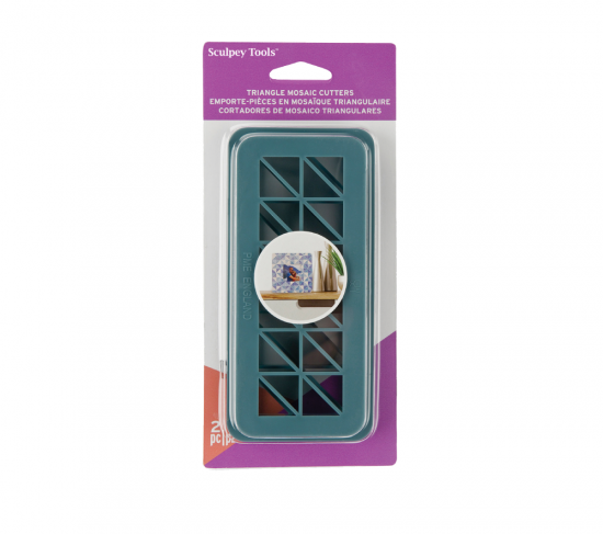 Sculpey Tools™ Mosaic Triangles Cutters 2 pc
