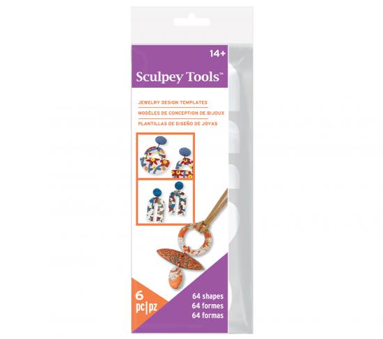 Sculpey® Jewelry Designs Template Pack