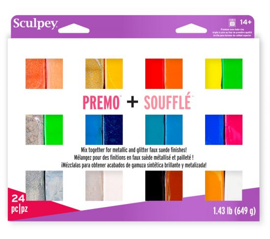 Sculpey Premo™ & Soufflé™ Multi-Pack 24 pc