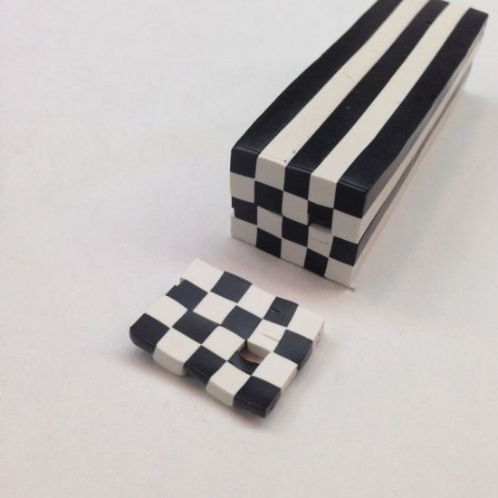 premo Sculpey Checkerboard Cane