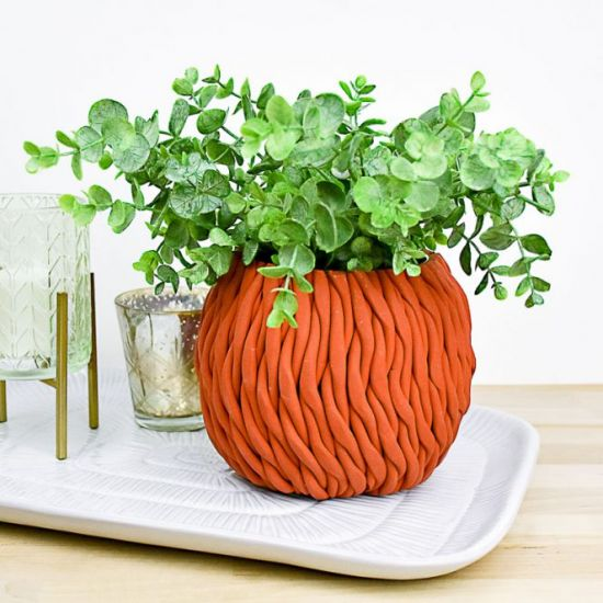 Original Sculpey® Terra Cotta Rope Planter