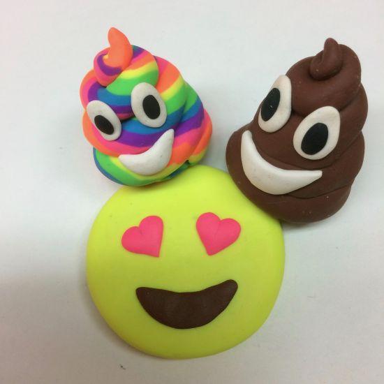Sculpey Eraser Clay Emoji Erasers