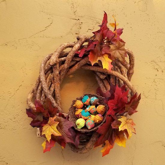 Souffle Fall Wreath