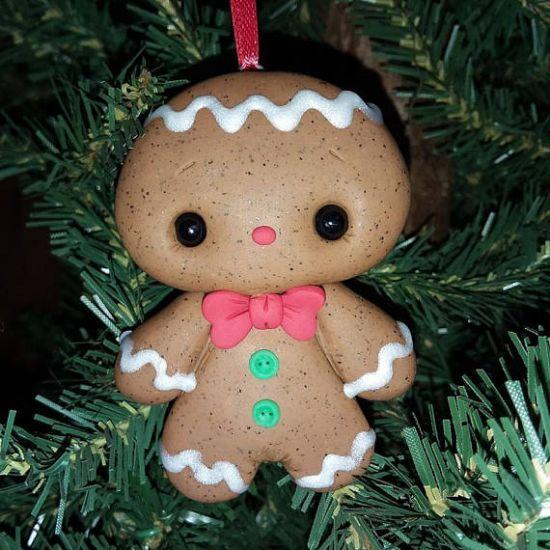 premo Gingerbread Ornament