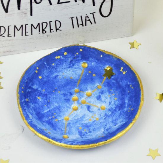 Sculpey Air-Dry™ Star Splatters Dish