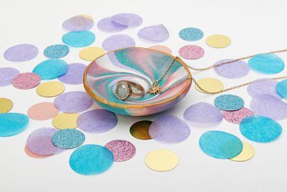 Sculpey®III Marbled Dish