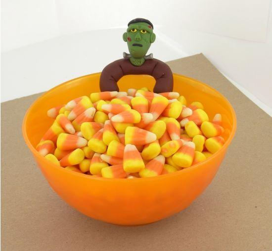 Sculpey® III Frankenstein Bowl Sitter