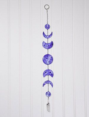 Blue Moon Phases Wall Hanging