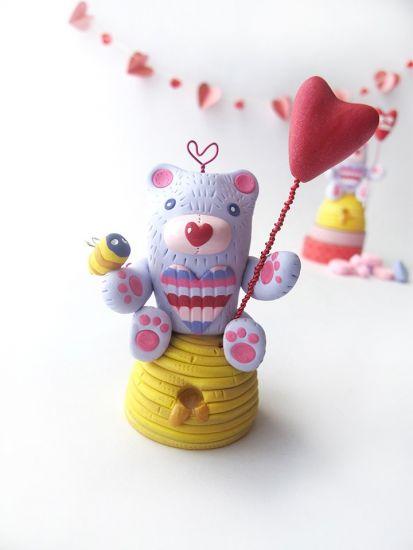 Bee My Honey Bear Figurine