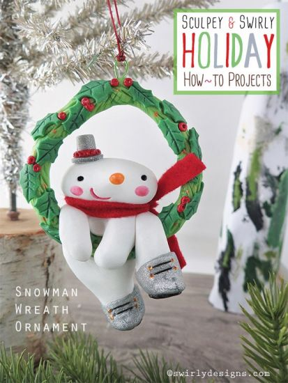 premo! Festive Snowman Wreath