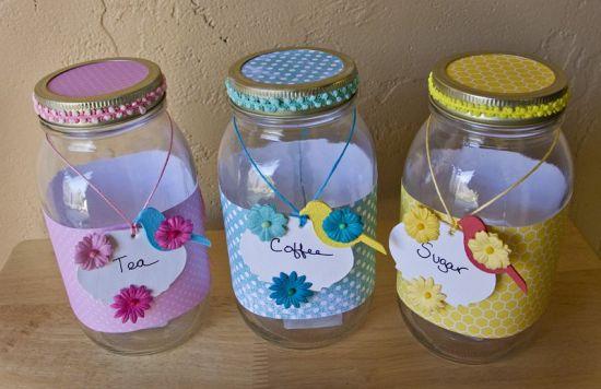 Souffle Country Bird Kitchen Jars