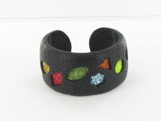 Sculpey Premo™ Glitter Cuff Bracelet