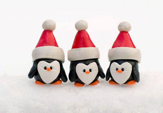 Sculpey III Holiday Penguins
