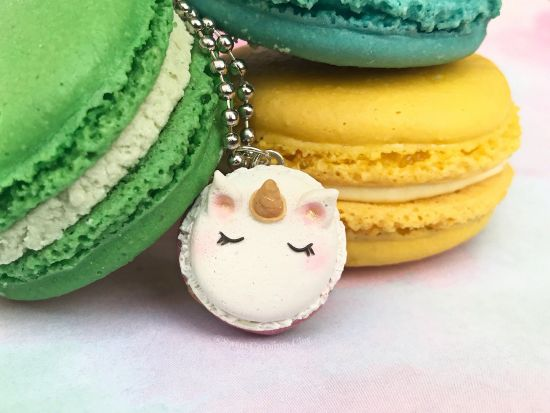 Kawaii Unicorn Macaron
