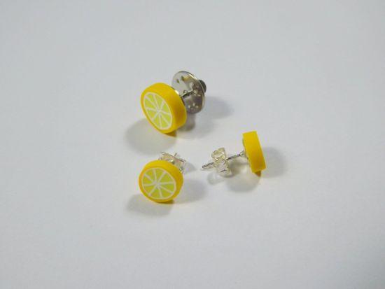 Sculpey Premo™ Lemon Slice Earrings