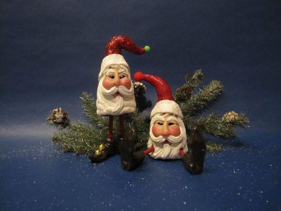 Sculpey III® Whimsical Santa Figurines