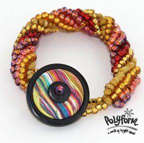 premo! Button Bracelet