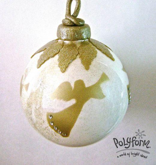 Premo! Four Golden Angels Tree Ornament