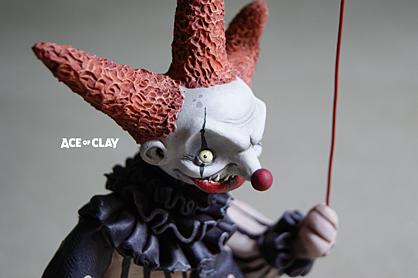September Artist Inspiration - Ace of Clay Clown
