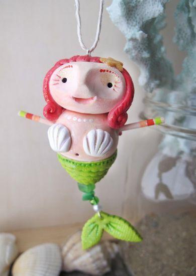 Premo! Swirly Mermaid