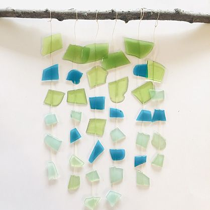 Liquid Sculpey® Frosted Glass Wall Hanging