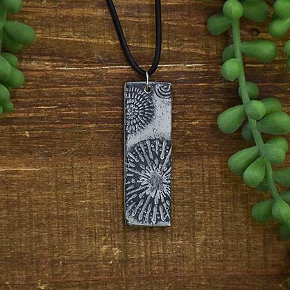 Original Sculpey® Granite Textured Ancient-Look Pendant