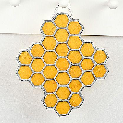 Premo Sculpey® Honeycomb Sun Catcher