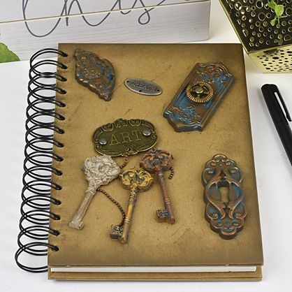 Sculpey Soufflé™  Molded Prima Art Daily Journal