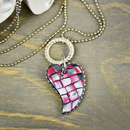 Sculpey Premo™ Queen of Hearts Necklace