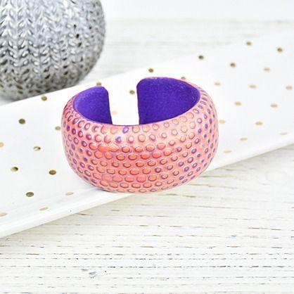Sculpey Premo™ Jewel Toned Cuff Bracelet