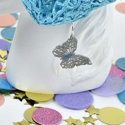 Liquid Sculpey® Butterfly Scrunchie Charm