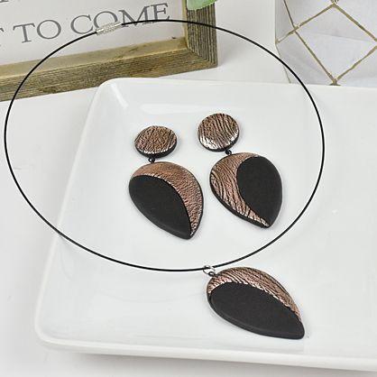 Sculpey Soufflé™  Art Deco Earrings