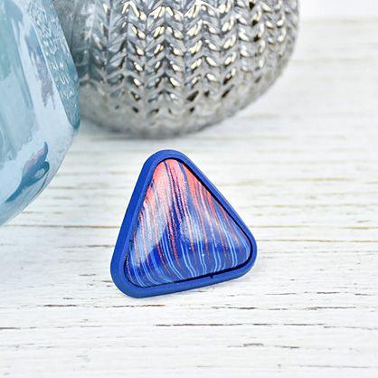 Premo Sculpey® Tri-Colored Triangle Ring