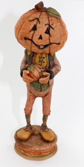 Super Sculpey The Pumpkin Man