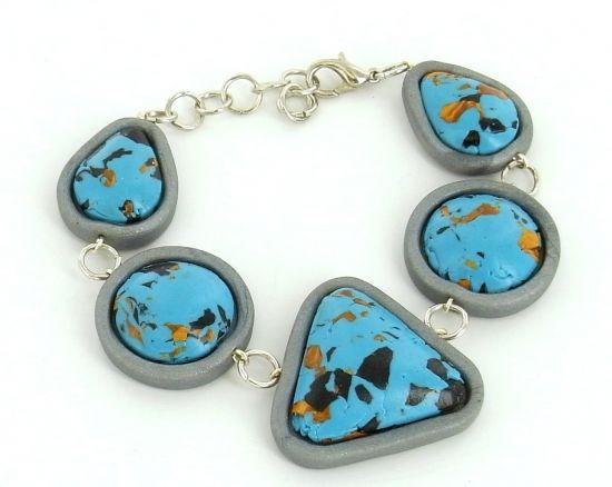 premo! Turquoise Multi Cab Bracelet