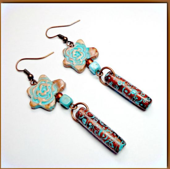 premo! Accents Tube Bead Earrings