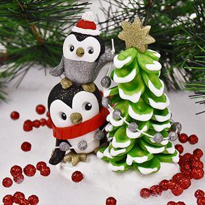 Sculpey Premo™ Penguin Topsy Turvey Tree