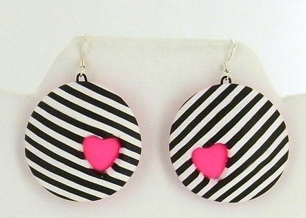 Sculpey® III Candy Heart Earrings