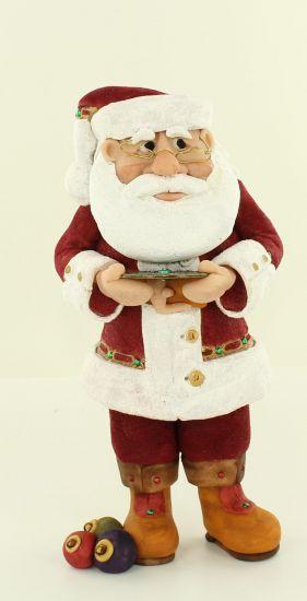 Super Sculpey 2014 Santa
