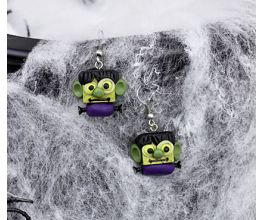 Liquid Sculpey® Frankenstein Earrings