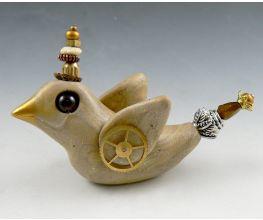Sculpey Premo™ Lil' Blob Bird – Steampunk Style!