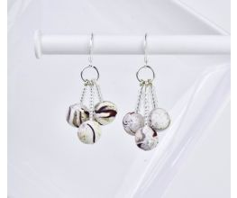 Sculpey Premo™ Marble Trio Earrings