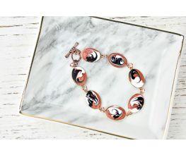 Liquid Sculpey® Marbled Copper Bracelet