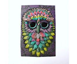 Premo! Fantasy Owl Journal Cover/Art Piece