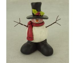 Sculpey® III Happy Boots Snowman