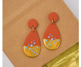 Original Sculpey® Terra Cotta Earrings