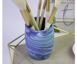 Sculpey III® Marbled Brush Container