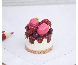 Sculpey III Miniature Cheesecake Figurine